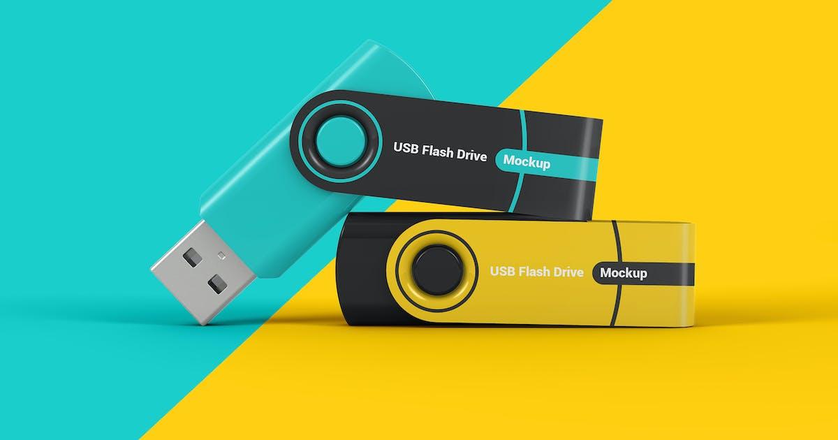 Download Flash Memory Drive Mockup by StreetD