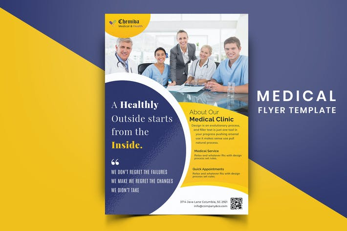 Thumbnail for Medical Flyer Template-03