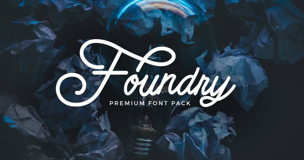 Foundry - font pack by micromove