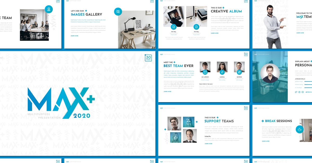 Download Max - Keynote Template by inspirasign