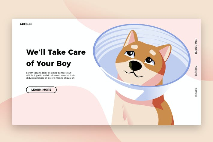 Thumbnail for Pet Cone - Banner & Landing Page