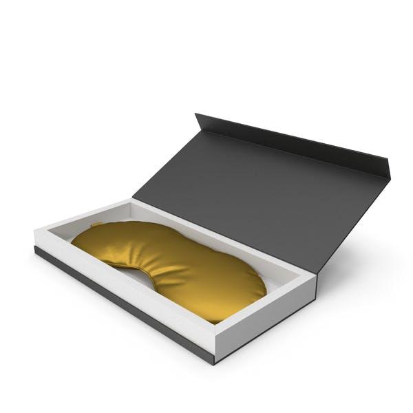 Gold Silk Sleep Mask with Gift Box