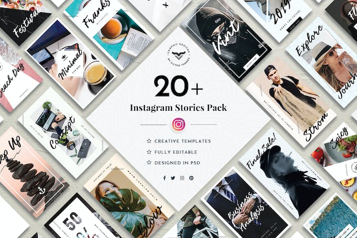 Thumbnail for Instagram Stories Social Media Template