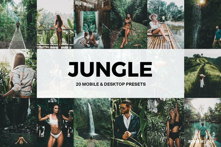 20 Jungle Lightroom Presets and LUTs