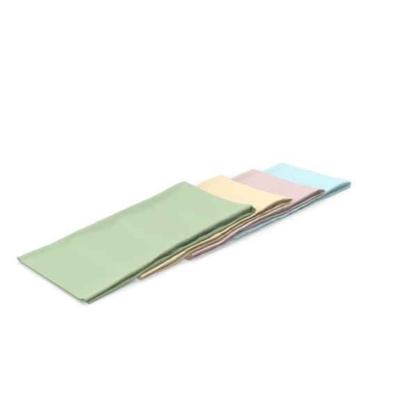 Многоцветные складные ткани