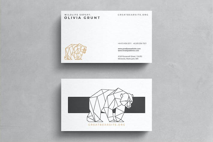 Thumbnail for Minimal Corporate Business Card