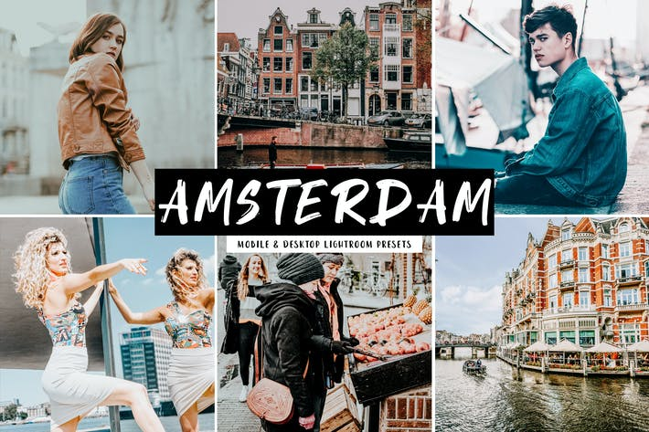 Thumbnail for Amsterdam Mobile & Desktop Lightroom Presets