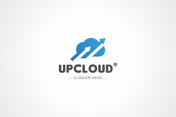 Thumbnail for Logo de flecha en la nube