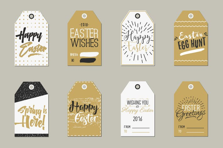 Thumbnail for Easter Gift Tags Collection