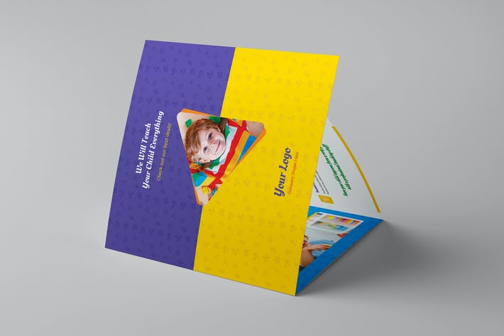 Thumbnail for Brochure – Kindergarten Tri-Fold Square