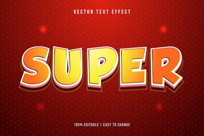 3D Vector Text Effect