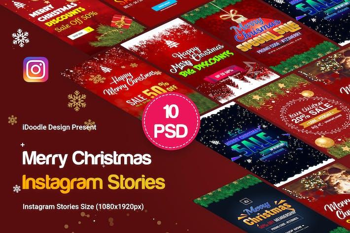 Thumbnail for Merry Christmas Instagram Stories