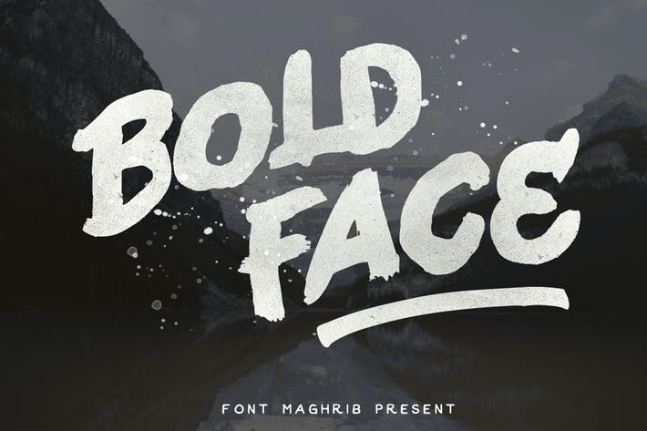 Thumbnail for Bold Face
