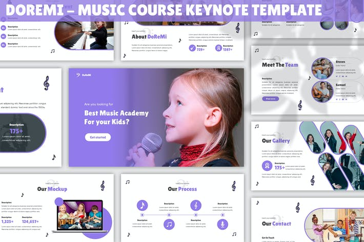 Doremi - Шаблон музыкального курса