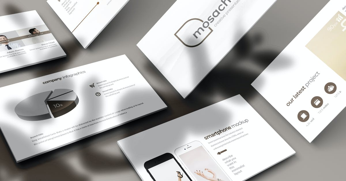 Mosach - Keynote Template by aqrstudio