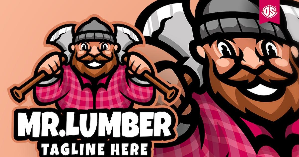 Download Lumberjack Cartoon Mascot Logo by dadangsudarno