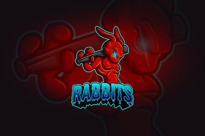 Thumbnail for Rabbit - Mascot & Esport Logo