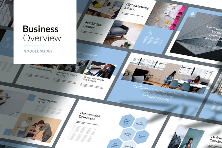 Thumbnail for Business Overview - Google Slides Template