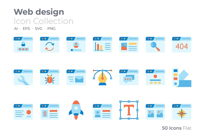 Thumbnail for Icône de couleur de conception Web