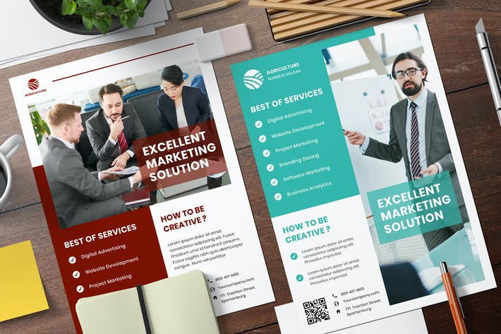 Thumbnail for Business Services Flyer Template