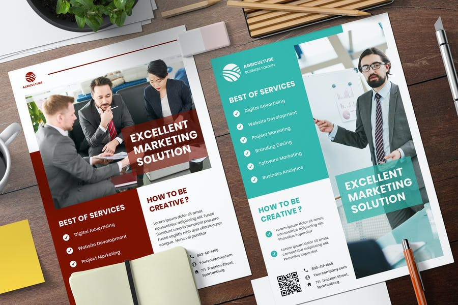 Business Services Flyer Template