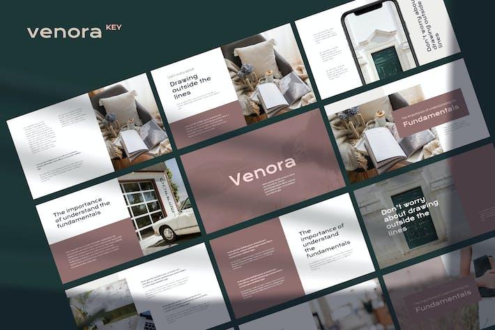 Thumbnail for Venora - Elegant Powerpoint Template