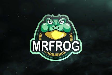 Mrfrog Sport and Esport Logos