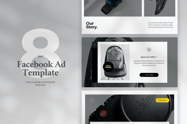 Thumbnail for Facebook Ad Template Vol.1