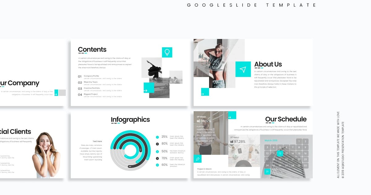 Download Unplugged - Google slide Template by aqrstudio