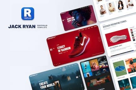 Jack Ryan - Modèle de Réalisations créatif