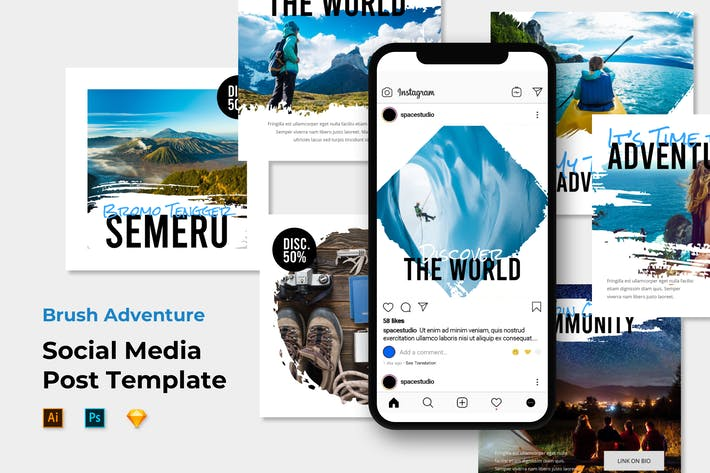 Thumbnail for Adventure Instagram Template