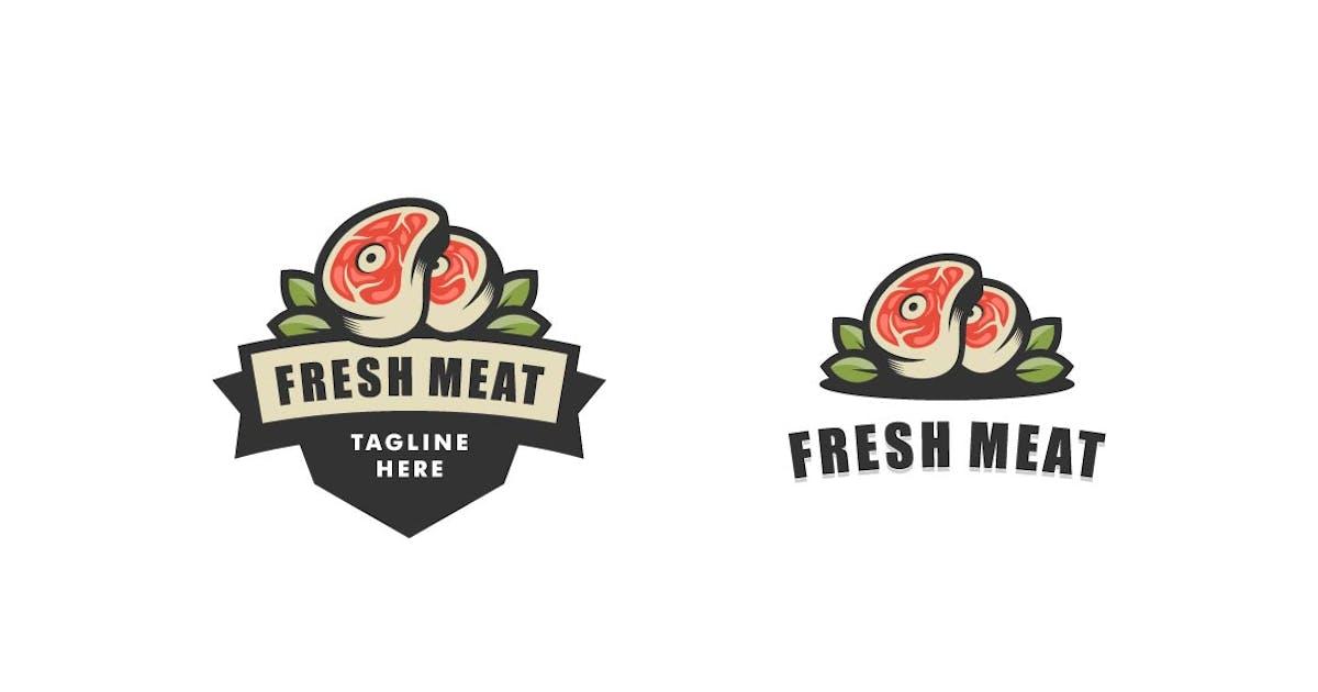 Download Fresh Meat Color Badge Logo by ivan_artnivora