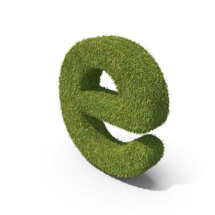 Grass Kleinbuchstabe E