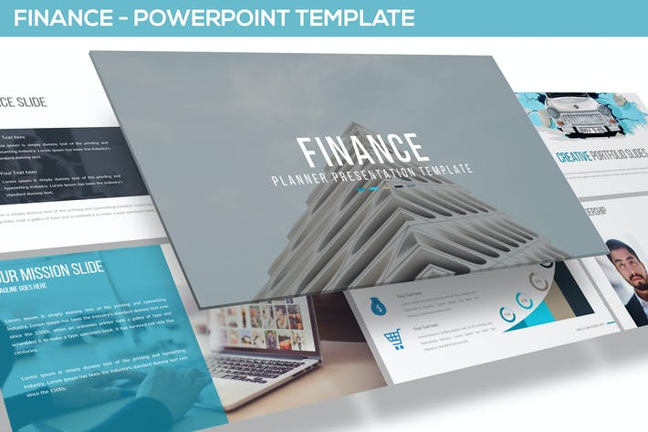 finance powerpoint template by inspirasign on envato elements