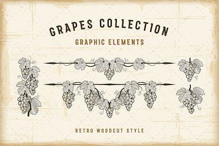 Retro Grapes Collection