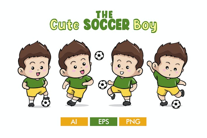 Thumbnail for The Cute Soccer Boy