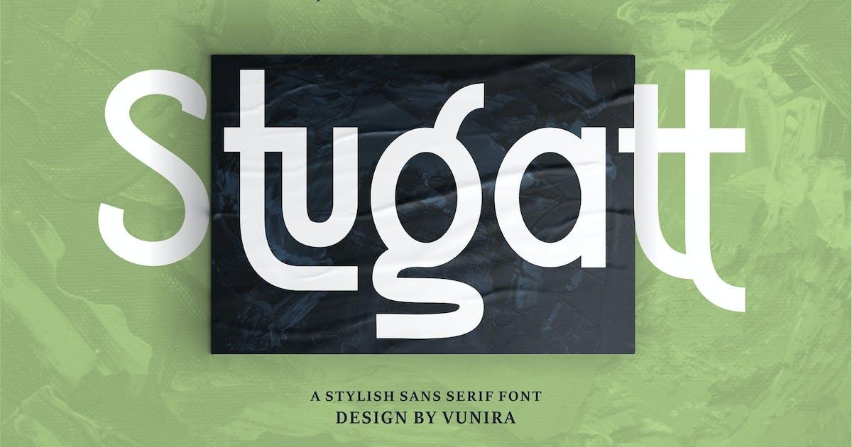 Download Stugatt   A Stylish Sans Serif Font by Vunira