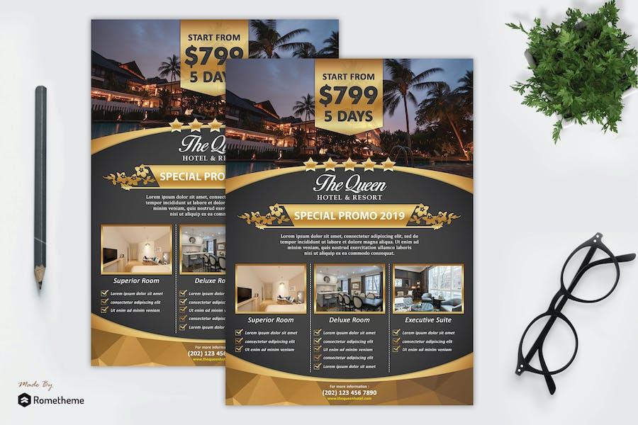 Hotel & Resort Flyer vol. 01