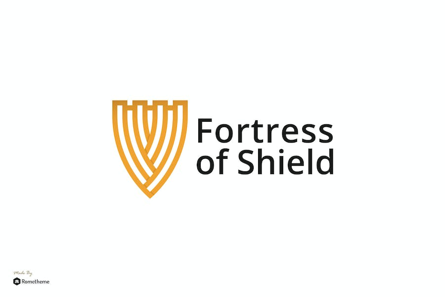 Fortress of Shield - Logo Template RB
