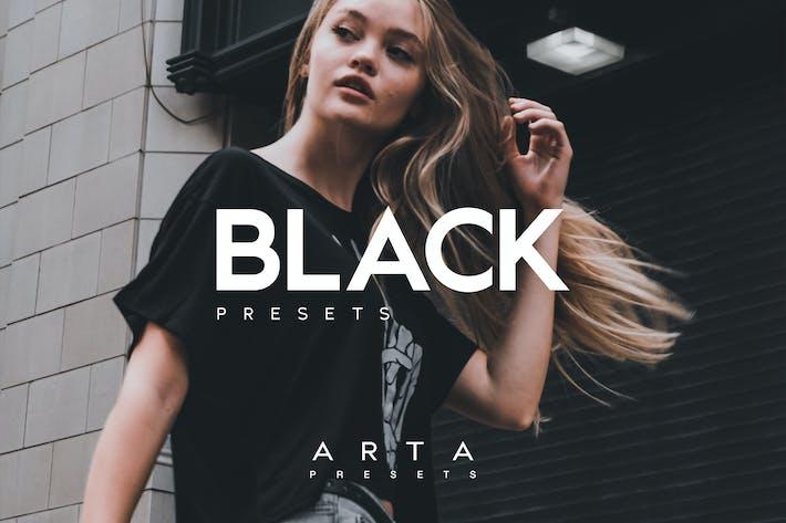 Thumbnail for Arta Presets | Black | For Mobile and Desktop