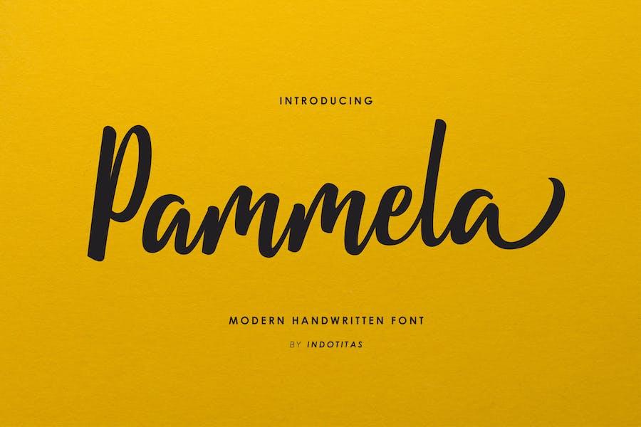 Pammela Script