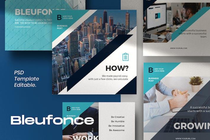 Thumbnail for Bluefonce Pack 1- Corporate Social media Kit
