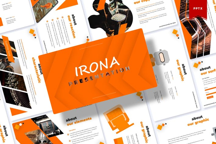Thumbnail for Irona | Шаблон Powerpoint