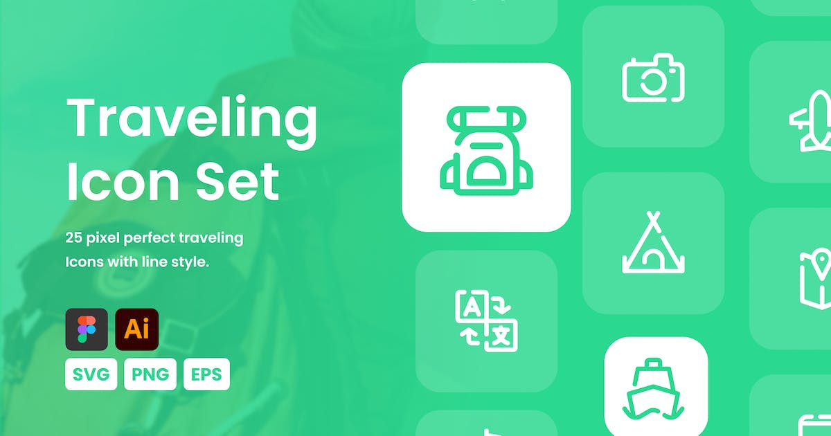 Download Traveling Icon Set by mhudaaa