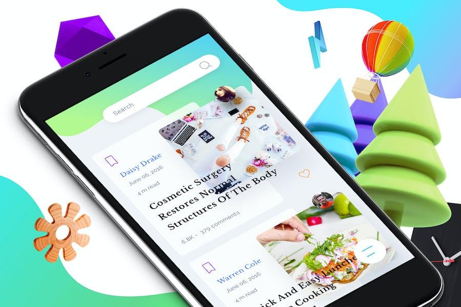 Blog 8 Mobile Ui