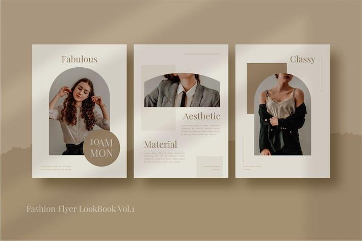 fashion flyer lookbook