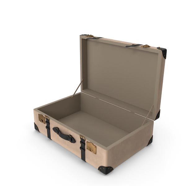 Retro Suitcase  Beige