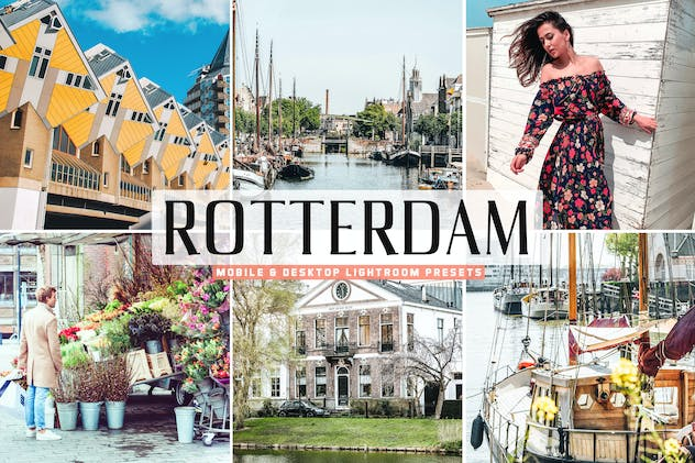 Rotterdam Mobile & Desktop Lightroom Presets - product preview 5