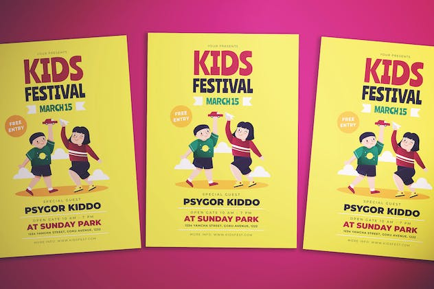 Kids Fest Flyer - product preview 0