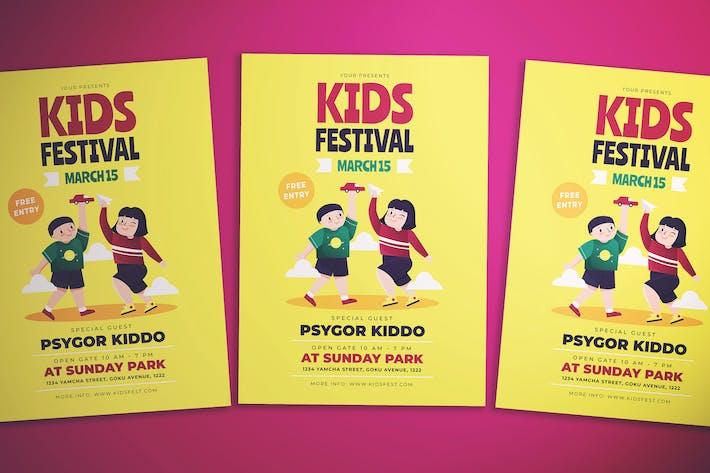 Thumbnail for Kids Fest Flyer